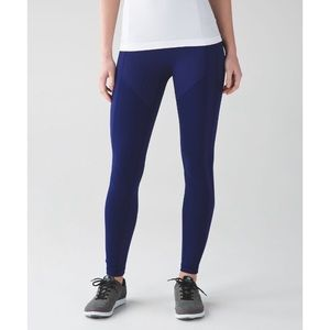 "Lululemon All the Right Places ATRP 25"" Navy Blue"
